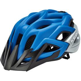 KED Status Helmet Kids blue black matt